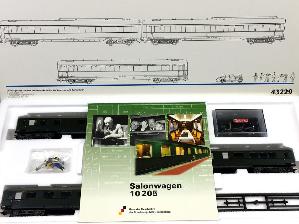 H0 AC MÄRKLIN 43229 - Salonwagen-Set