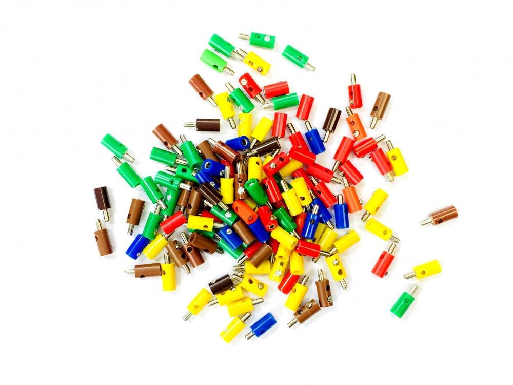 Stecker und Kupplungen - Farben in der Auswahl