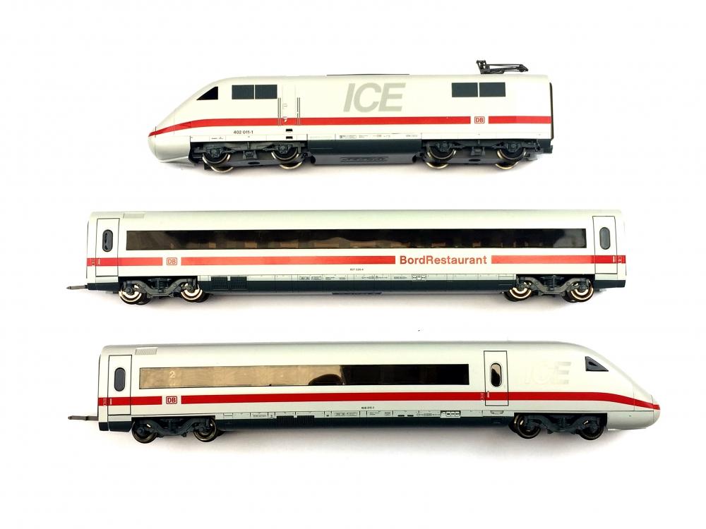 H0 DC ROCO 63087 - 3-tlg. ICE-2 - DB AG - Ep. V - DSS