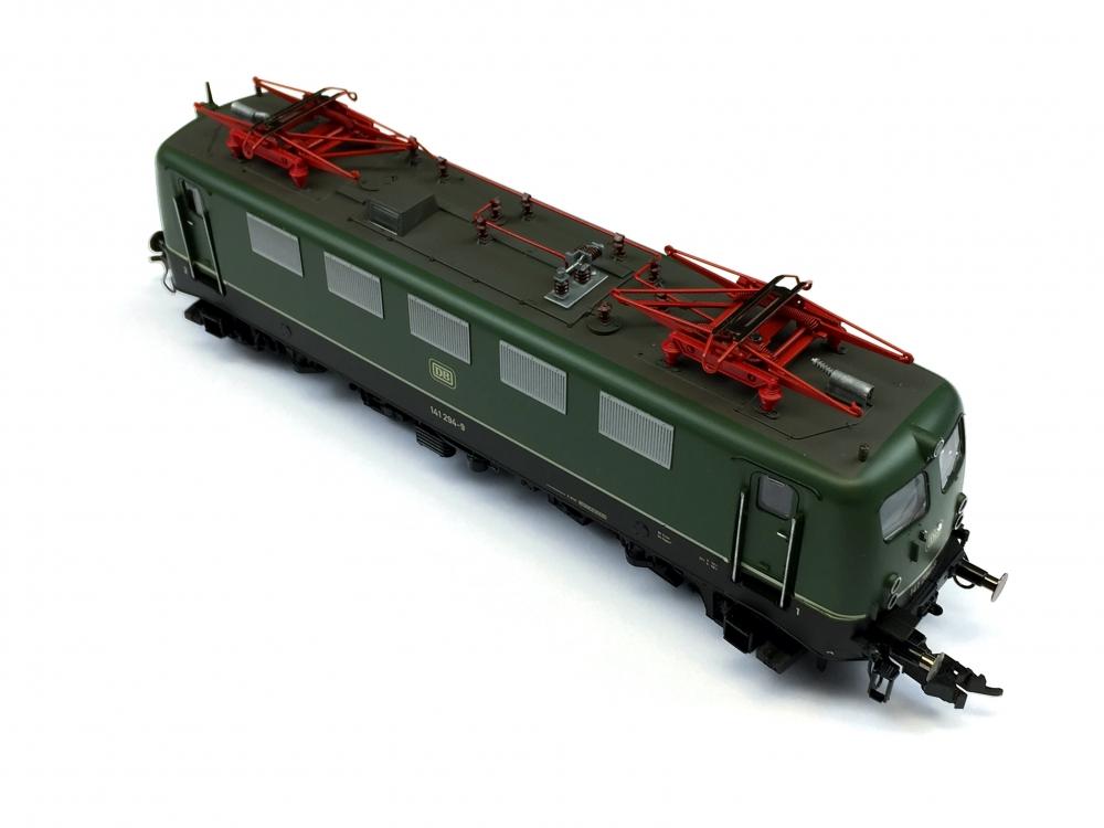 H0 DC FLEISCHMANN 74326 - Elektrolokomotive BR 141 - DB - Ep. IV - Digital - Sound