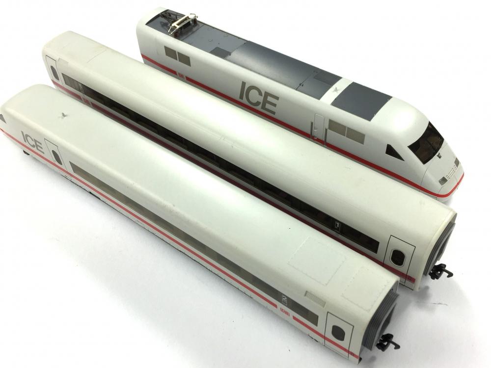 Ersatz-Kupplungsdeichsel 4 x z.B für MÄRKLIN ICE Triebzug BR 402 Spur H0 NEU